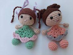 Crochet Ripple, Granny Square Crochet Pattern, Crochet Baby, Crochet Patterns Amigurumi, Amigurumi Doll, Knitting Patterns, Knitted Dolls, Crochet Dolls, Baby Headband Tutorial