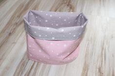 Un snood printemps/été en tissu gris et rose pour enfant *elouje* : Echarpe, foulard, cravate par elouje