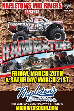 RAMINATOR coming March 20th and 21st!