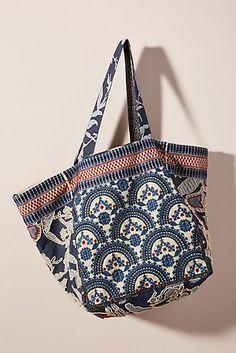 b0307ae6adb9 Adilah Embroidered Tote Bag Embroidered Bag