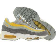 Nike Womens Air Max 95 (medium grey   varsity maize) 698014-071 - 0cf4136a5