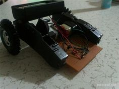 çizgi takip eden robot yapımı