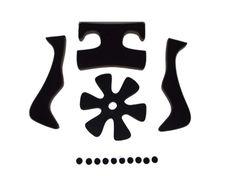 Trek Interval Aftermarket Helmet Replacement Foam Pads Cushions Kit Bike Liner