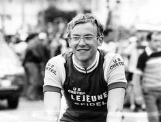 A young Laurent Fignon