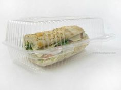 Hoagie/Bakery Plastic Food Container #CPC-395