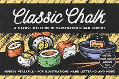 Classic Chalk - Brushes + Patterns!