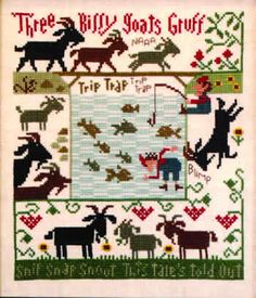 Prairie Schooler - Three Billy Goats Gruff- who's that trip trapping over my bridge?