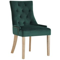 Update your dining area with the modern Modway Pose Upholstered Fabric Dining Chair . The soft, velvet upholstery, which comes in your choice of available. Fabric Dining Chairs, Contemporary Dining Chairs, Solid Wood Dining Chairs, Upholstered Dining Chairs, Dining Chair Set, Modern Contemporary, Chair Upholstery, Chair Cushions, Dining Table