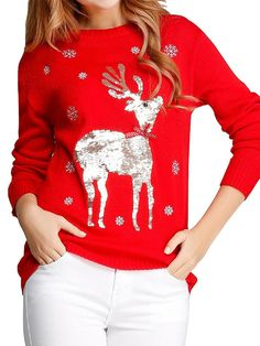 #Christmas sweater outfit