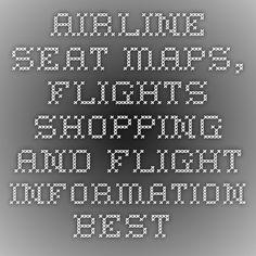 Airline Seat Maps, Flights shopping and Flight information- Best Airplane Seats - SeatGuru