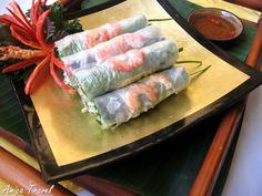 Goi cuon de Saigon - Rouleaux de printemps