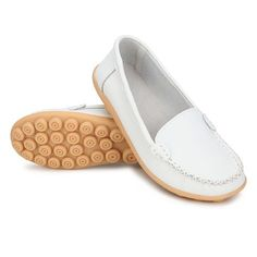 Nice Comfortable Leather Women Ballet Flat Shoes