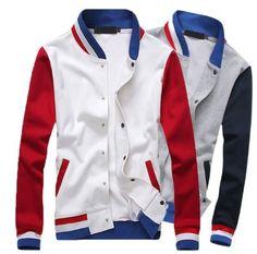 Mens Cool Trendy Slim Jacket
