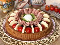 torta salata con base morbida