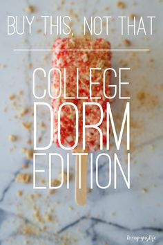 """Welcome to back to school! I know this may be super early for some of you, but I move back to USC in just a short week and a half. It's the time of year where anxious and excited college freshman are swarming Targets across the nation to stock up on """"must-have"""" dorm supplies. Little … Continue reading """"Buy This, Not That: College Dorm Edition"""""""