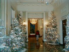 Home for the Holidays : The White House 2001 image Gallery..