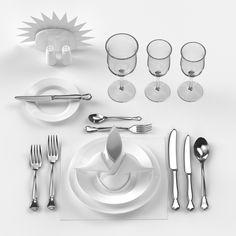 3D Tableware - 3D Model
