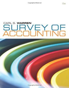 Solution manual for cost and management accounting 7th edition by download survey of accounting 5th edition pdf e book fandeluxe Images