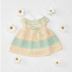 Easter Dress Free Download Sizes: 3-6 (6-12, 2-18, 18-24)mos