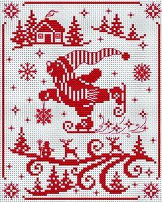 Xmas Cross Stitch, Cross Stitch Boards, Cross Stitching, Cross Stitch Embroidery, Embroidery Patterns, Diy Christmas Star, Christmas Cross, Cross Stitch Sampler Patterns, Cross Stitch Designs