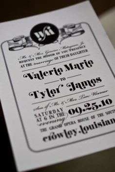 Southern Fete Creative wedding invitations... perfection!À