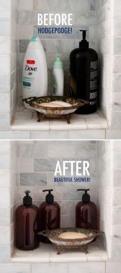 Shower Product Uniformity