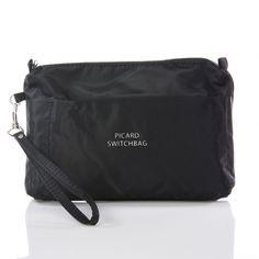 Tasche in der Tasche - in die Handtasche oder das Handgepäck packen, einfacher kann man Pflegeprodukte nicht umpacken: Picard Switchbag Kulturtasche | ChackPack.com