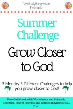 Summer Reading   Bible Study Vacation   Bible Reading Plan Bible Study Plans, Bible Study Tips, Reflection Questions, Get Closer To God, Christian Resources, Christian Faith, Christian Living, Walk By Faith, Bible Verses