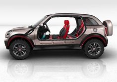 The sky's the limit: MINI Beachcomber Concept.