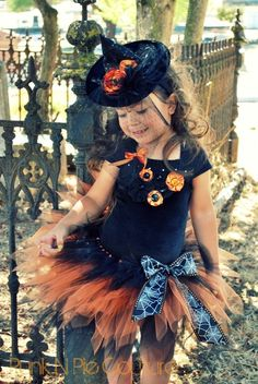 Witch Tutu Costume Coco the Couture Witch by punknpiecouture, $60.00
