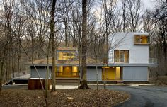 Houzz Tour: Modern Tower in a Virginia Forest