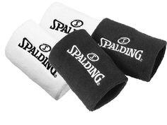 Muñequera Spalding Wristband, concebido para jugadores de baloncesto en entrenamiento y en competición www.basketspirit.com/Spalding-complementos