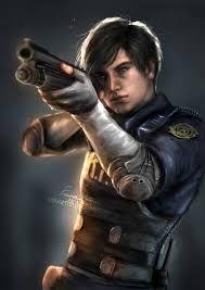 ผลการค นหาร ปภาพสำหร บ Resident Evil 2 Fan Art Resident Evil Leon Resident Evil Resident Evil Game