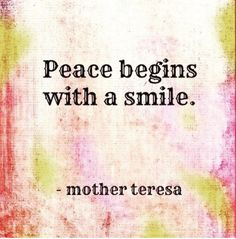 Keep Smiling.