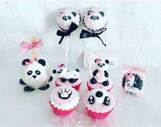 Inspire sua Festa ® | Blog sobre festas e maternidade Bolo Panda, Panda Decorations, Panda Cakes, Panda Party, Bolo Fake, Kung Fu Panda, Sweets Cake, Cute Food, Barbie