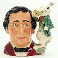 Royal Doulton Large Character Jug, Lewis Carroll
