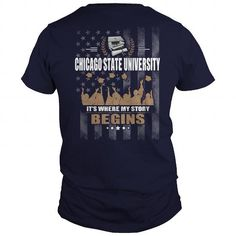 I Love  CHICAGO STATE UNIVERSITY 2017 AWESOME Shirts & Tees