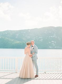 A Rustic, Intimate Wedding on a Private Beach on St. Thomas | Brides.com
