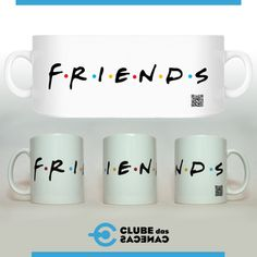 Caneca F.R.I.E.N.D.S - Clube das Canecas STORE - Tanlup