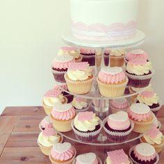 Wedding Cupcakes www.facebook.com/breezyscakes