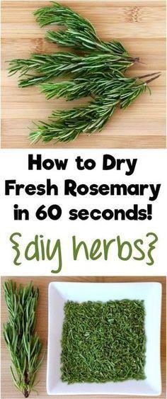 Rosemary Recipes, Herb Recipes, Rosemary Ideas, Loquat Recipes, Sante Bio, Comida Keto, How To Dry Rosemary, Rosemary Herb, Cooking Tips