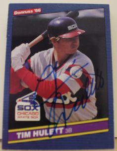 Tim Hulett Chicago White Sox Autographed 1986 Donruss Card