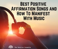 Law Of Attraction Tips, How To Manifest, Positive Affirmations, Mindfulness, Positivity, Songs, Music, Life, Musica