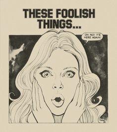 THESE FOOLISH THINGS BY JACKIE MAGAZINE Original romance illustration, Jackie Magazine, 1976