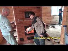 (2) Внутреннее устройство печи с лежанкой и отзыв заказчика - YouTube
