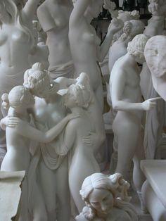 Aryan Race, Anatomy Sculpture, Greek Statues, Marble Art, Tree Sculpture, Aesthetic Art, Purple Aesthetic, Figurative Art, New Art