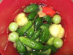 Kaja, Healthy Cooking, Pickles, Cucumber, Soup, Food And Drink, Gourmet, Red Peppers, Soups