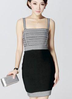HEGO Bandage Dress Black HL819,  Dress, HEGO Bandage Dress Black, Chic
