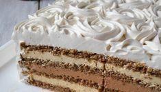 Interkontinental torta Sweet Recipes, Cake Recipes, Dessert Recipes, Mousse, Torte Recepti, Torte Cake, Trifle, Sweet And Salty, Bread Baking