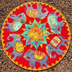 JoAnn Hoffman - The Last Marigold quilt